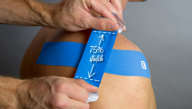 kt tape shoulder instructions