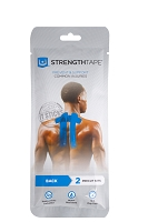 StrengthTape Kinesiology Tape Kit - Back & Neck