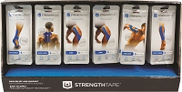 StrengthTape Kinesiology Tape Body Kits - Retail POP Display