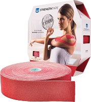 StrengthTape Kinesiology Tape 35M Roll - Red