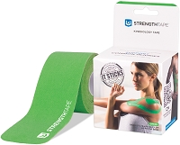 StrengthTape Kinesiology Tape 5M Precut Roll - Green