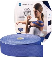 StrengthTape Kinesiology Tape 35M Roll - Royal Blue